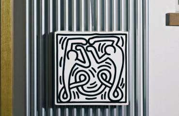 Vaso/umidificatore Keith Haring