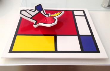 Piatto Mondrian