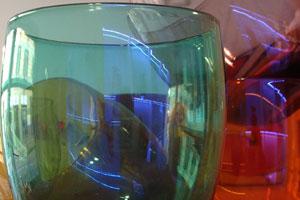 Bicchieri e brocche vetro